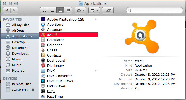 avast for mac download