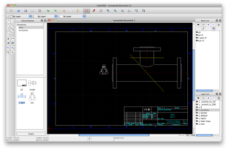 LibreCAD v2.2.0 Portable Final [ Crack + Keygen ] Free..