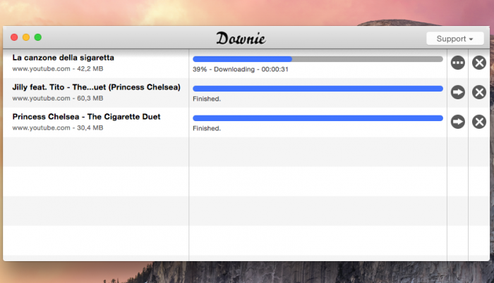Downie 2.7.8 - YouTube Video Downloader for OS X - Free Download