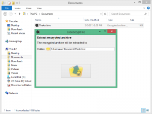 CrococryptFile 1.5 Portable Download Free
