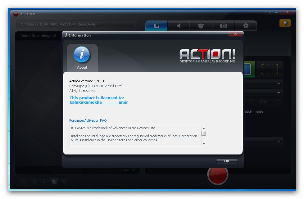Mirillis Action! Crack 4.9.0 + Key Free Download 2020