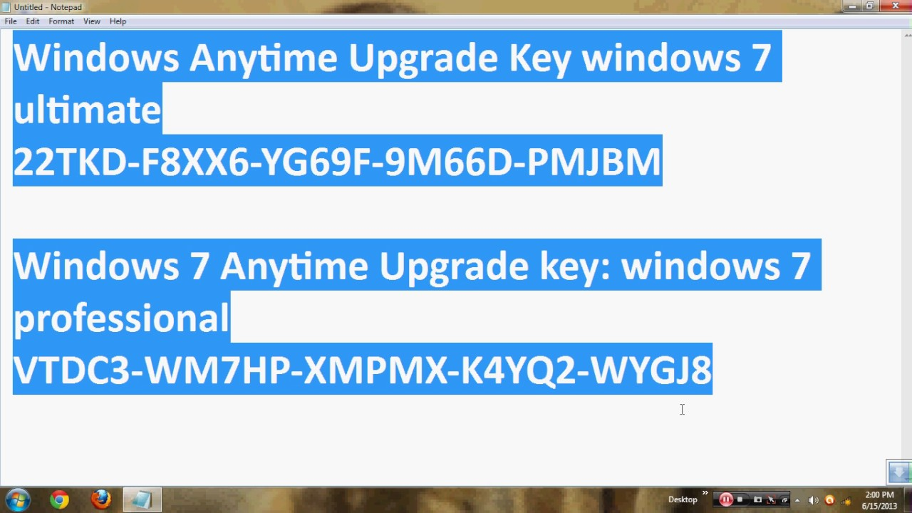 windows 7 Home Premium Product Key for Free 2020 Download ISO