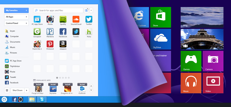 IObit Start Menu 8 Pro Crack for Windows 7, 8, 10 Download