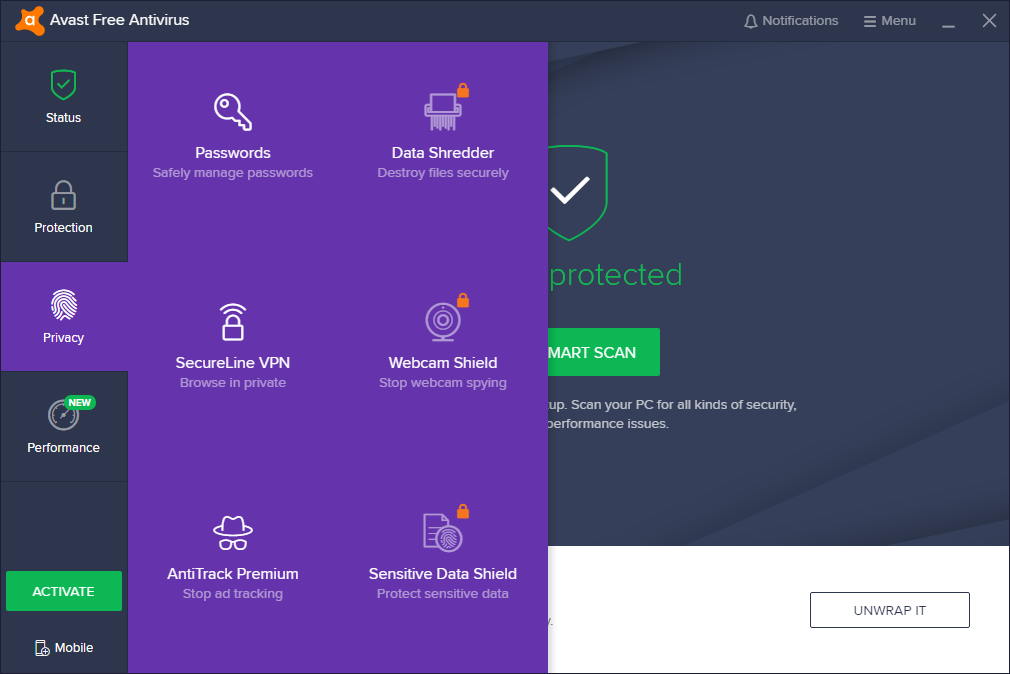 Avast Antivirus 20.5.5410 Crack with Serial Number 2020 Full Free Download